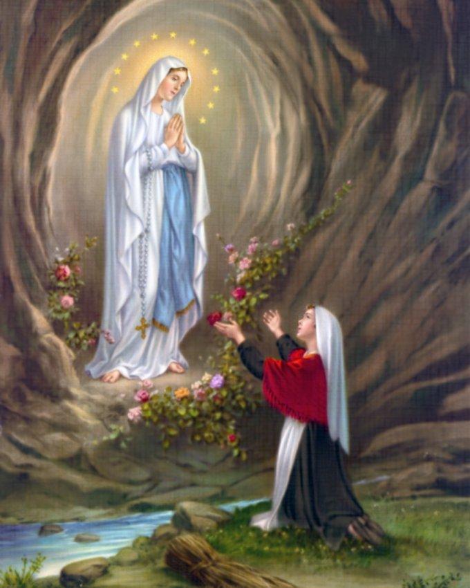 Lundi 9 décembre : Immaculée Conception