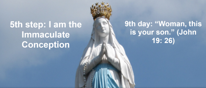 9th day: I am the Immaculate Conception