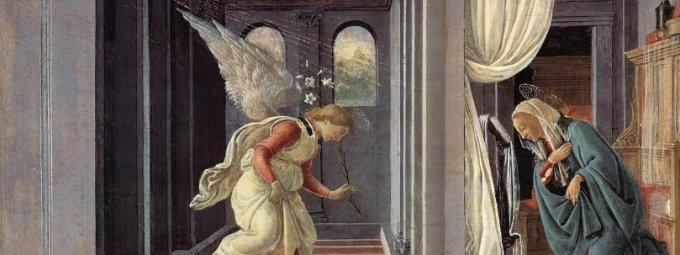 """""""L'Esprit Saint viendra sur toi…"""" (Lc 1, 26-37)"""