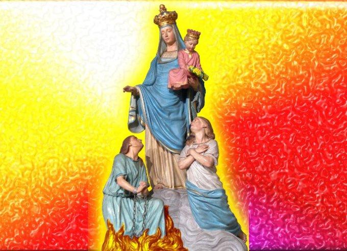 Pour les âmes oubliées: miséricorde Seigneur
