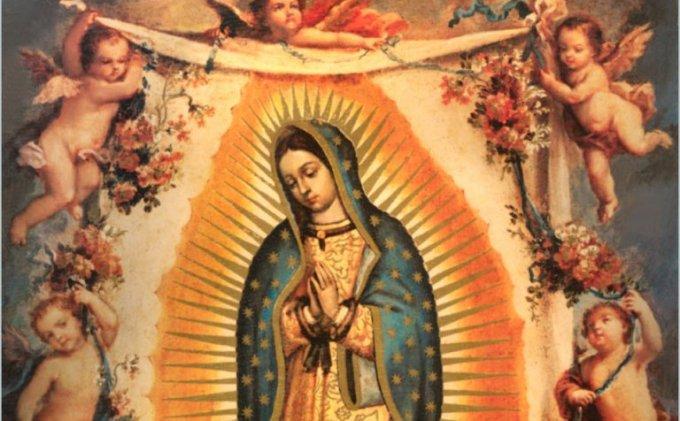 Notre Dame de Guadalupe priez pour nous