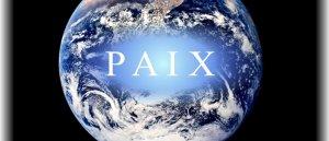 Prions pour la paix dans le monde!!