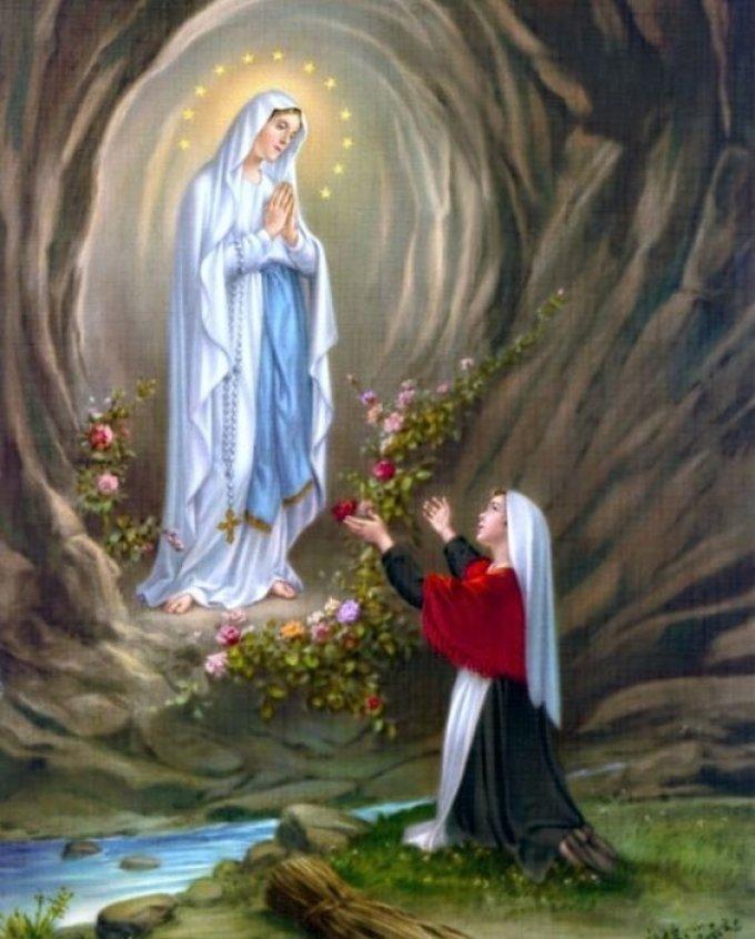 Ô Marie, salus infirmorum, accorde aux malades la force et l'espérance !