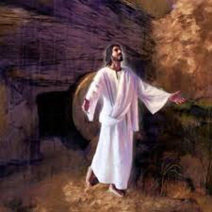 Christ est ressucité, il est vraiment ressucité