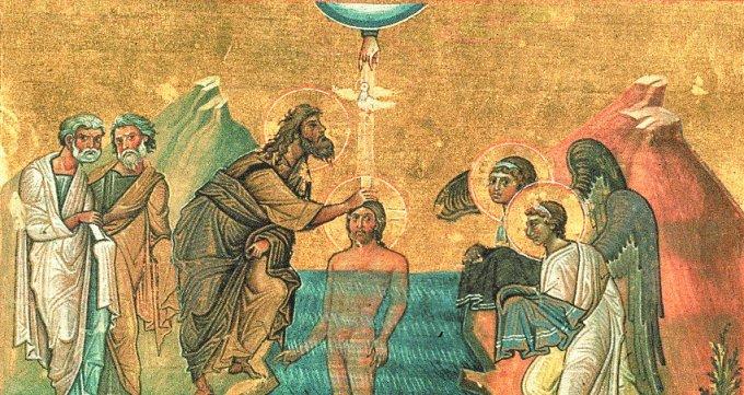 """""""Celui-ci est mon Fils bien-aimé en qui je trouve ma joie"""" (Mt 3, 17)"""