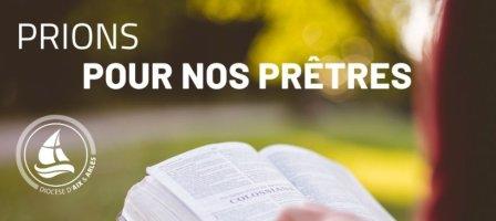 Prions avec nos prêtres du diocèse d'Aix-en-Provence et Arles