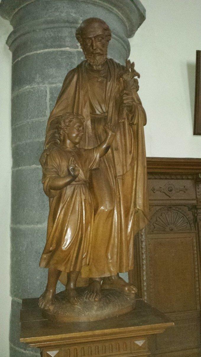 Saint Joseph, nourricier du Fils de Dieu, priez pour nous