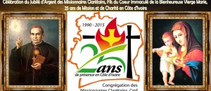Prions pour les 25 de présence des clarétains en Côte d'Ivoire