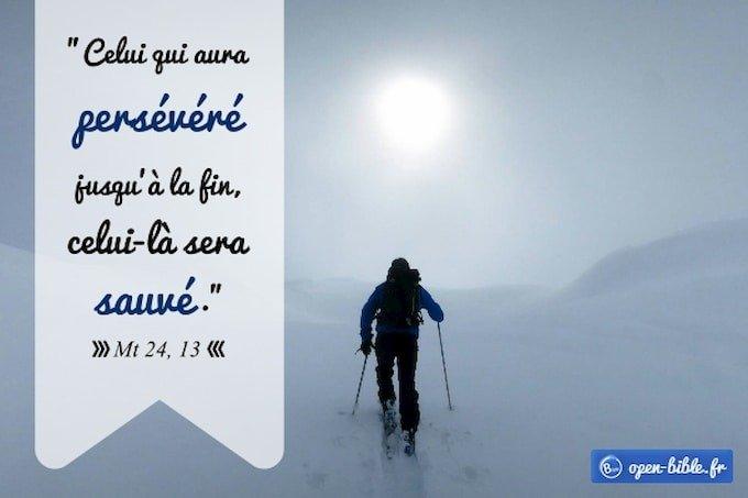 Chapitre 24 : Courage, persévère !