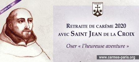 Carême 2020 avec Saint Jean de la Croix