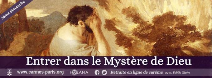 J18 - Troisième dimanche - Entrer dans le Mystère de Dieu