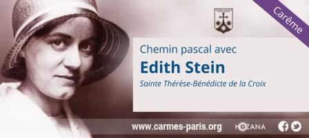 Carême – Chemin pascal avec Édith Stein