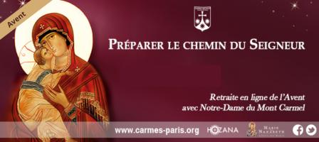 Avent 2018 : Avec Notre-Dame du Mont Carmel