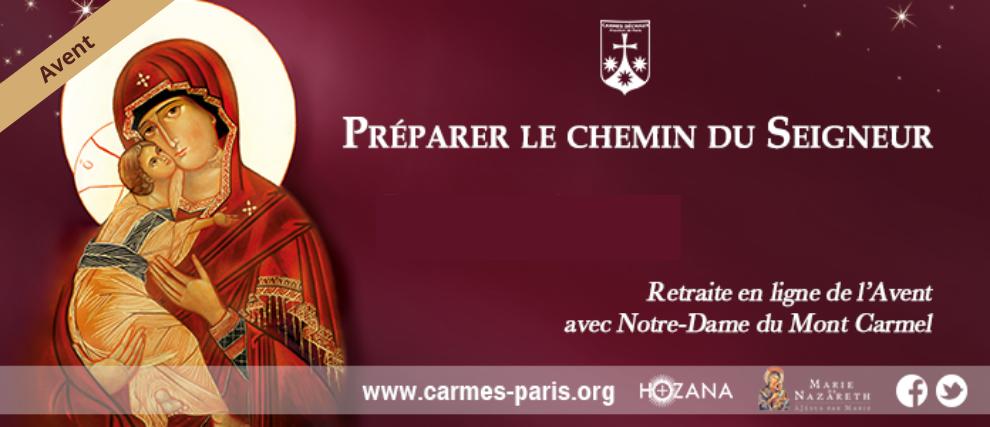 L'Avent : Avec Notre-Dame du Mont Carmel