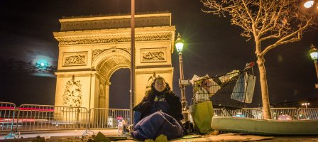 Prions pour les sans-abris de France