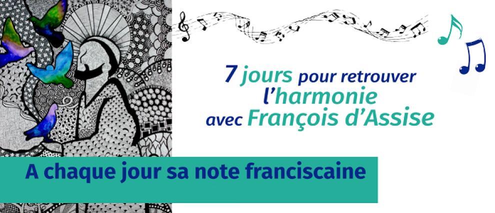 7 jours avec François d'Assise