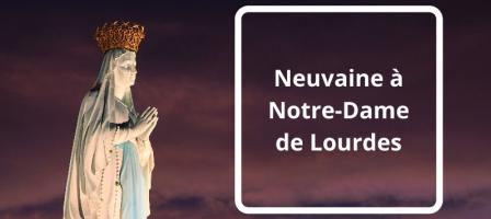 Neuvaine à Notre-Dame de Lourdes