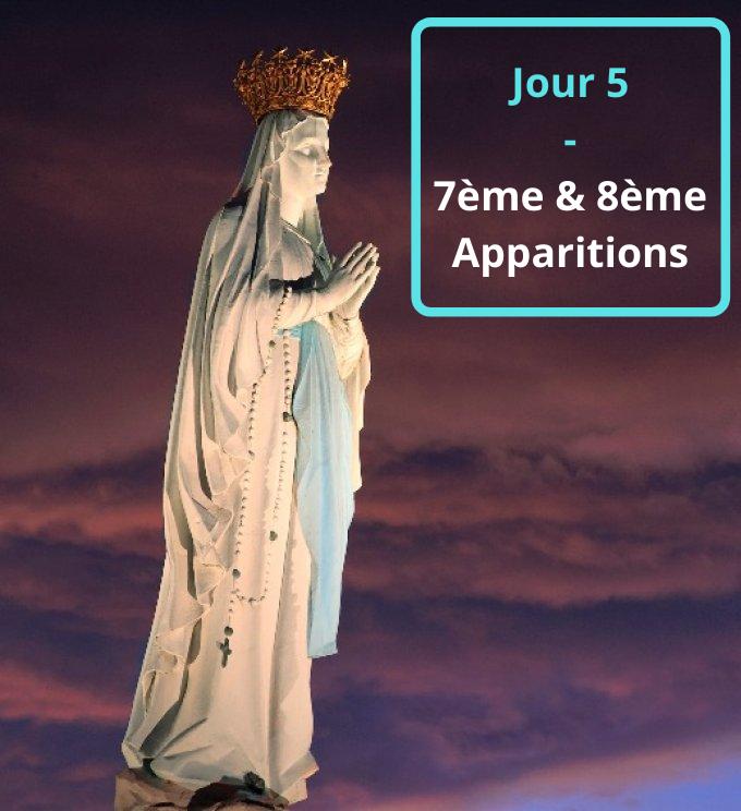 Jour 5 - 7ème & 8ème Apparitions