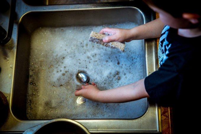 Jour 1 - Prier en faisant la vaisselle