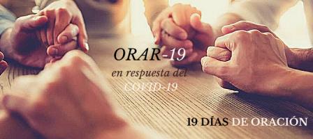 ORAR-19 la respuesta de oración al COVID-19