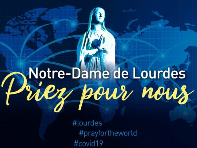Notre Dame de Lourdes - Priez pour nous  et pour les malades