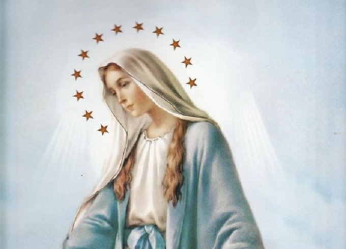Vierge Sainte, nous tournons nos regards vers Vous avec plus d'insistance