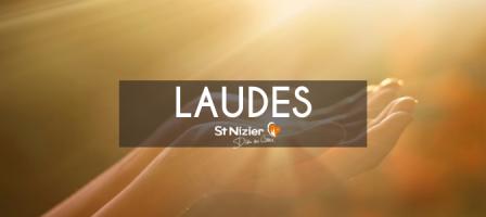 8H30 en DIRECT - Laudes avec les prêtres de Saint-Nizier