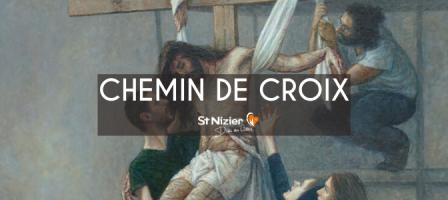 Chemin de Croix avec les prêtres de Saint-Nizier