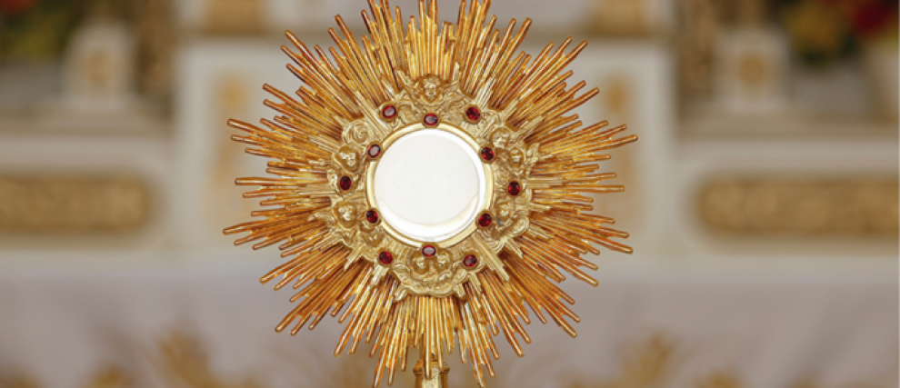 The Eucharistic fast: an offering of your life