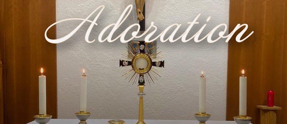 Adoration en direct de 21h à 21h30 du 23/03/20 au 31/05/20