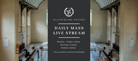 Daily Mass with the Dominican Friars