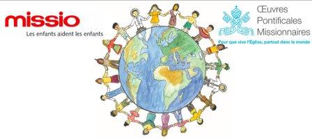 Neuvaine de Pâques avec les enfants du monde