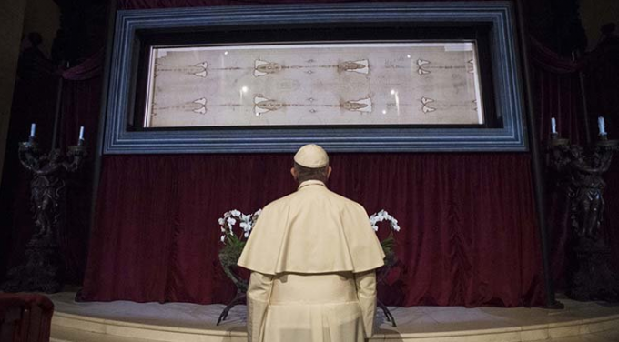 '' Il vit, et il crut ''     Ostension virtuelle du Saint Suaire de Turin