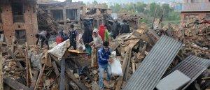 Prions pour les victimes du séisme au Népal.