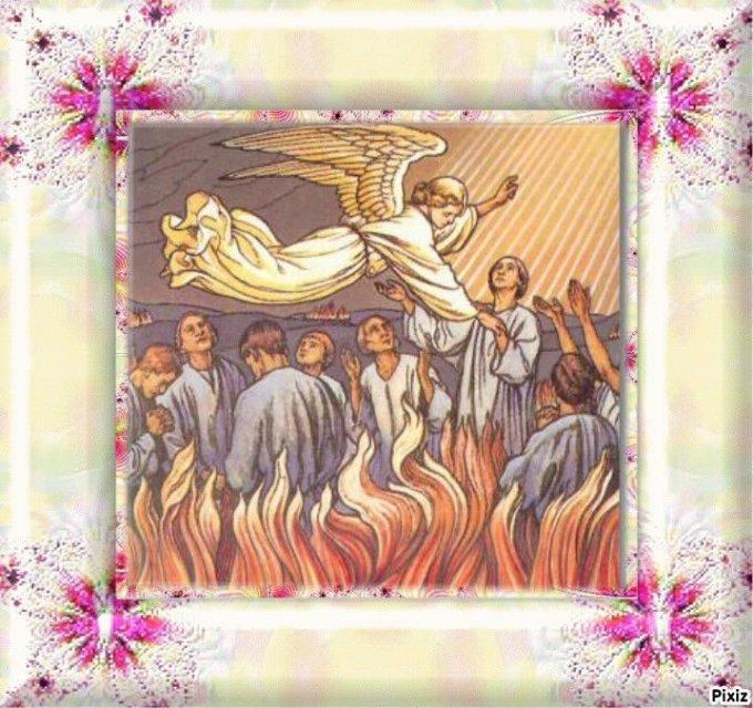 Pour toutes les âmes du purgatoire: Miséricorde Seigneur