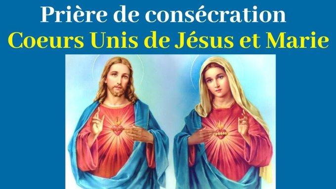 Consécration de la France au Sacré Coeur de Jésus et au Coeur Immaculé de Marie