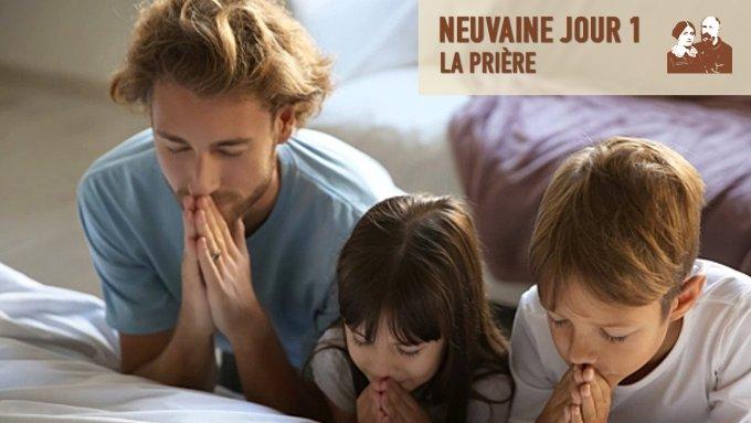 Jour 1 - « Dieu premier servi », la prière en famille