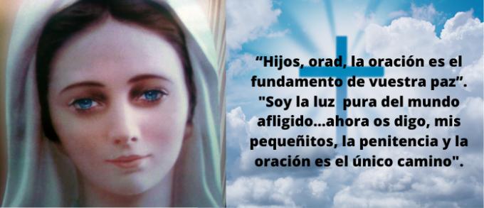 ORACIÓN DIARIA A MARÍA