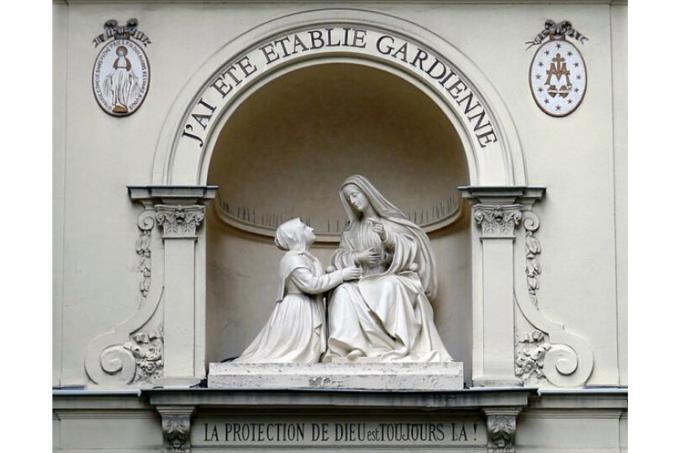 J3 : Neuvaine à Notre-Dame de la Médaille Miraculeuse avec Ste Catherine