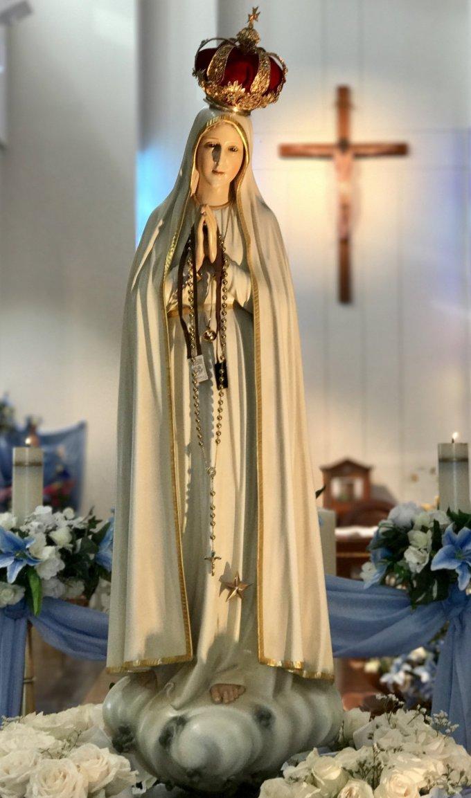 Samedi 16 mai : Grand Rosaire à Notre-Dame de Fatima !