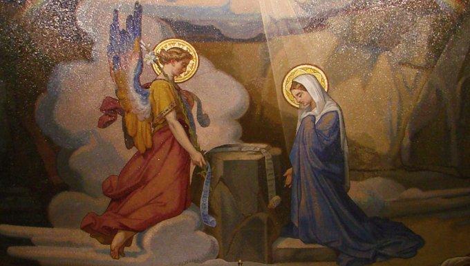"""1ère joie de Marie : """"L'Esprit Saint viendra sur toi"""""""