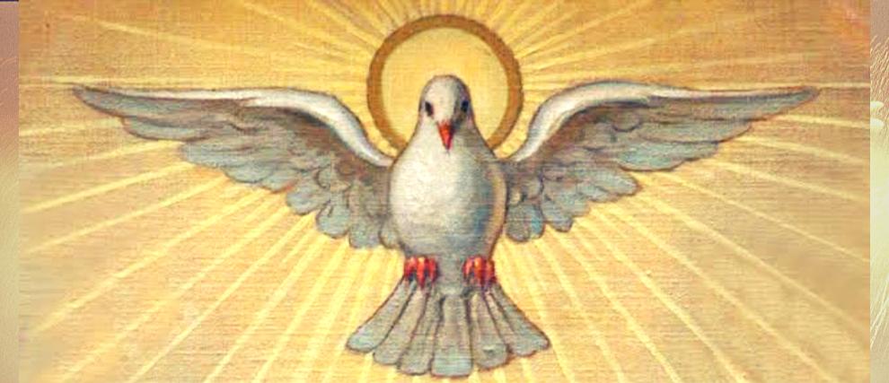 Novena al Espíritu Santo - meditando