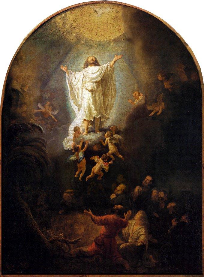 21 mai 2020 : Ascension de Jésus