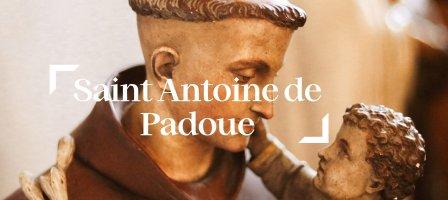7 jours de prière avec saint Antoine de Padoue !