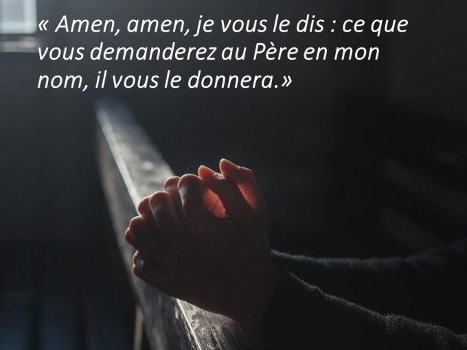 Vers Pentecôte - Samedi VI  : te connaître, t'aimer, te prier !