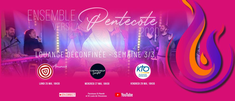 """🔥 Une Louange """"DECONFINÉE"""" en LIVE ! 🎼"""
