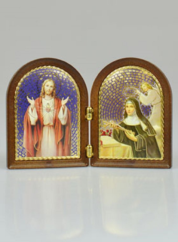 En ce mois du Sacré-Cœur, nous nous tournons vers toi, Sainte Rita
