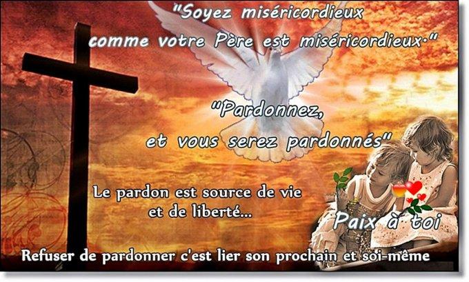 Le Pardon et la Miséricorde