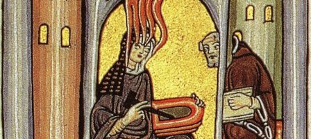Sainte Hildegarde, la magistra