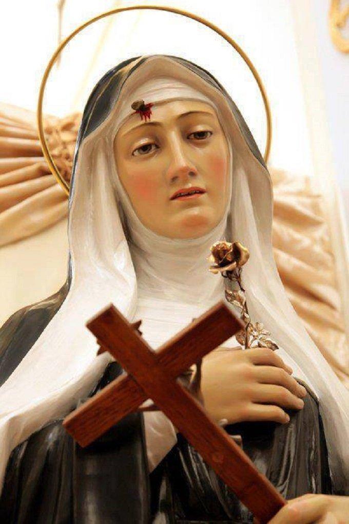 Sainte Rita, deux mois  pour nous te-re dire notre confiance...
